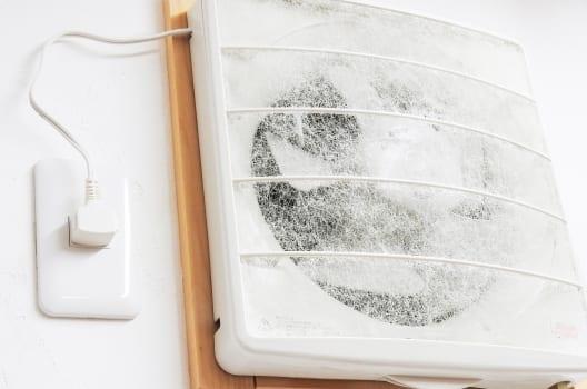 換気扇が止まらない原因はスイッチの不具合かも?修理費用目安も解説